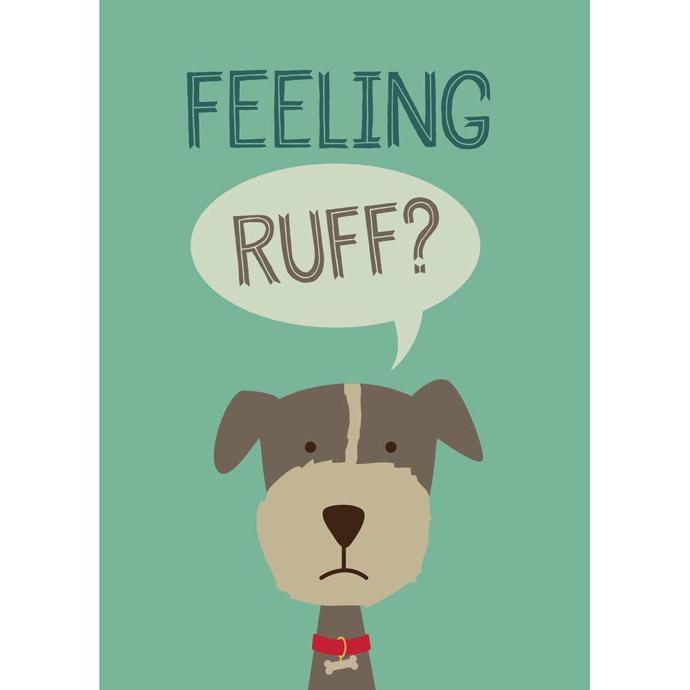 Feeling Ruff? Packaged Magnet