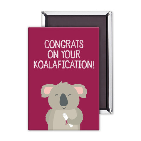 Congrats on your Koalafication Packaged Magnet