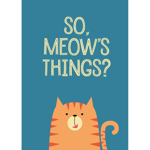 So Meow's Things? Packaged Magnet