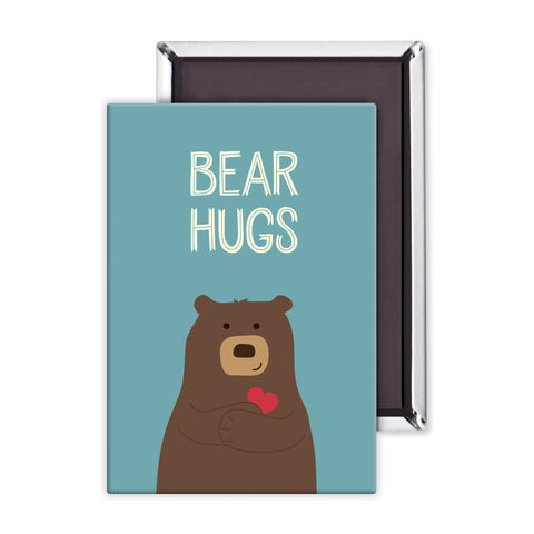 Bear Hugs Packaged Magnet
