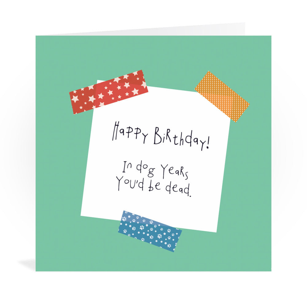 Happy Birthday Greeting Card Greeting Card 6x6