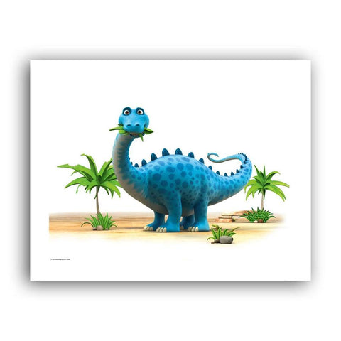 Dinosaur Munch The Diplodocus Art Print