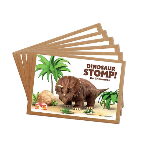 Dinosaur Stomp The Triceratops Postcard Pack