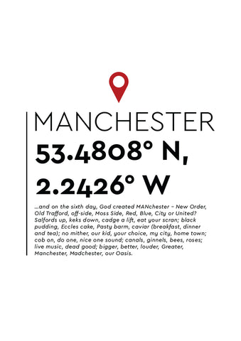 YAH002 You Are Here - Manchester