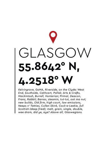 YAH004 You Are Here - Glasgow