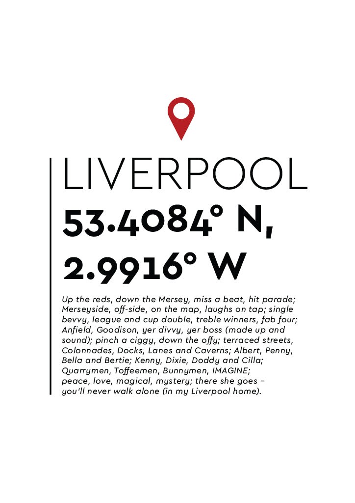 YAH005 You Are Here - Liverpool