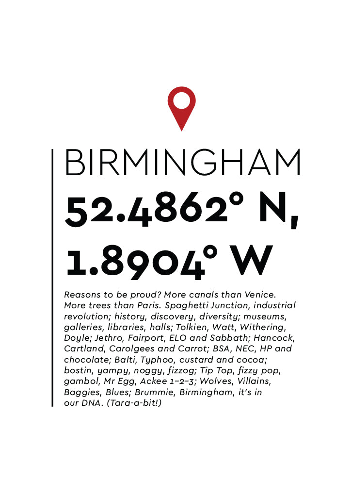 YAH006 You Are Here - Birmingham