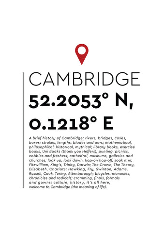 YAH008 You Are Here - Cambridge