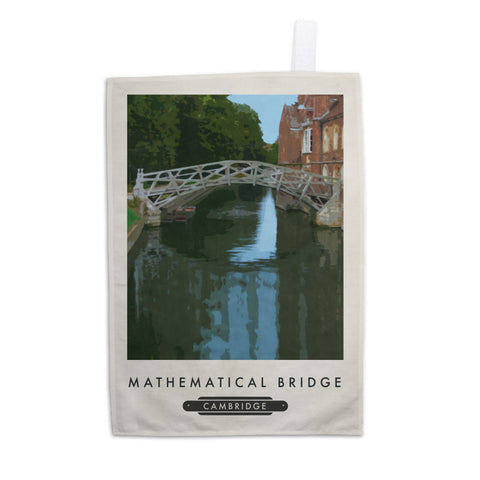 The Mathematical Bridge, Cambridge 11x14 Print