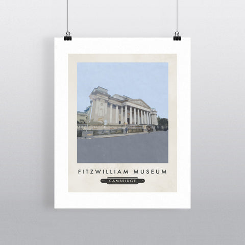 The Fitzwilliam Museum, Cambridge 11x14 Print