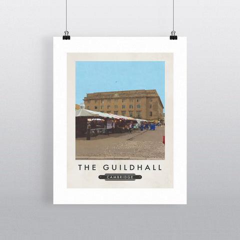 The Guildhall, Cambridge 11x14 Print