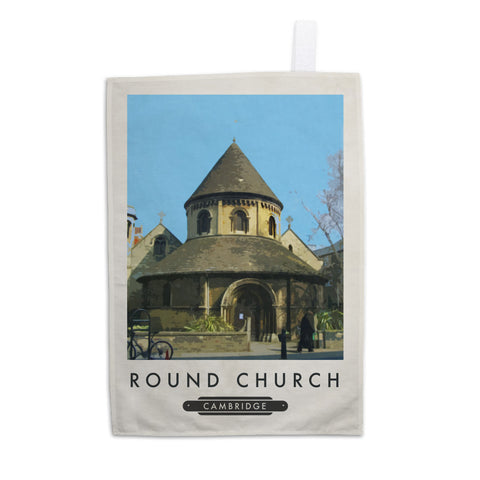 The Round Church, Cambridge 11x14 Print