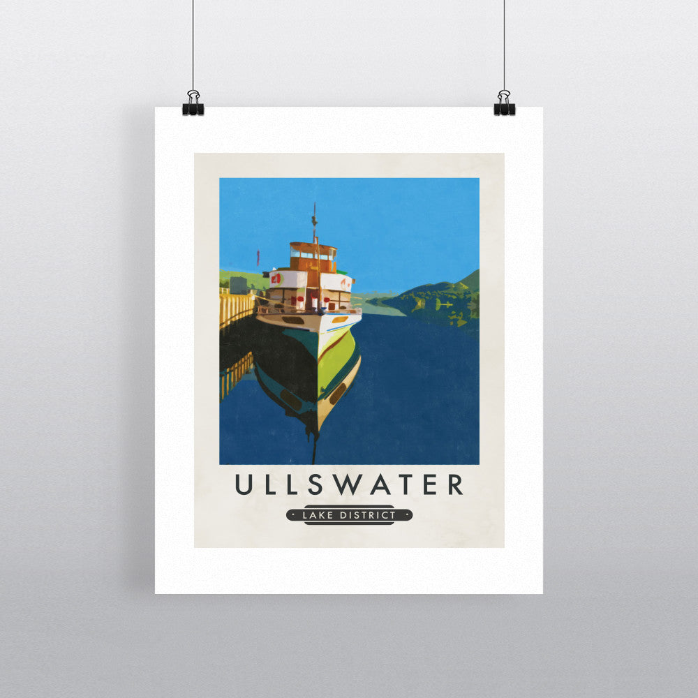 Ullswater, The Lake District 11x14 Print