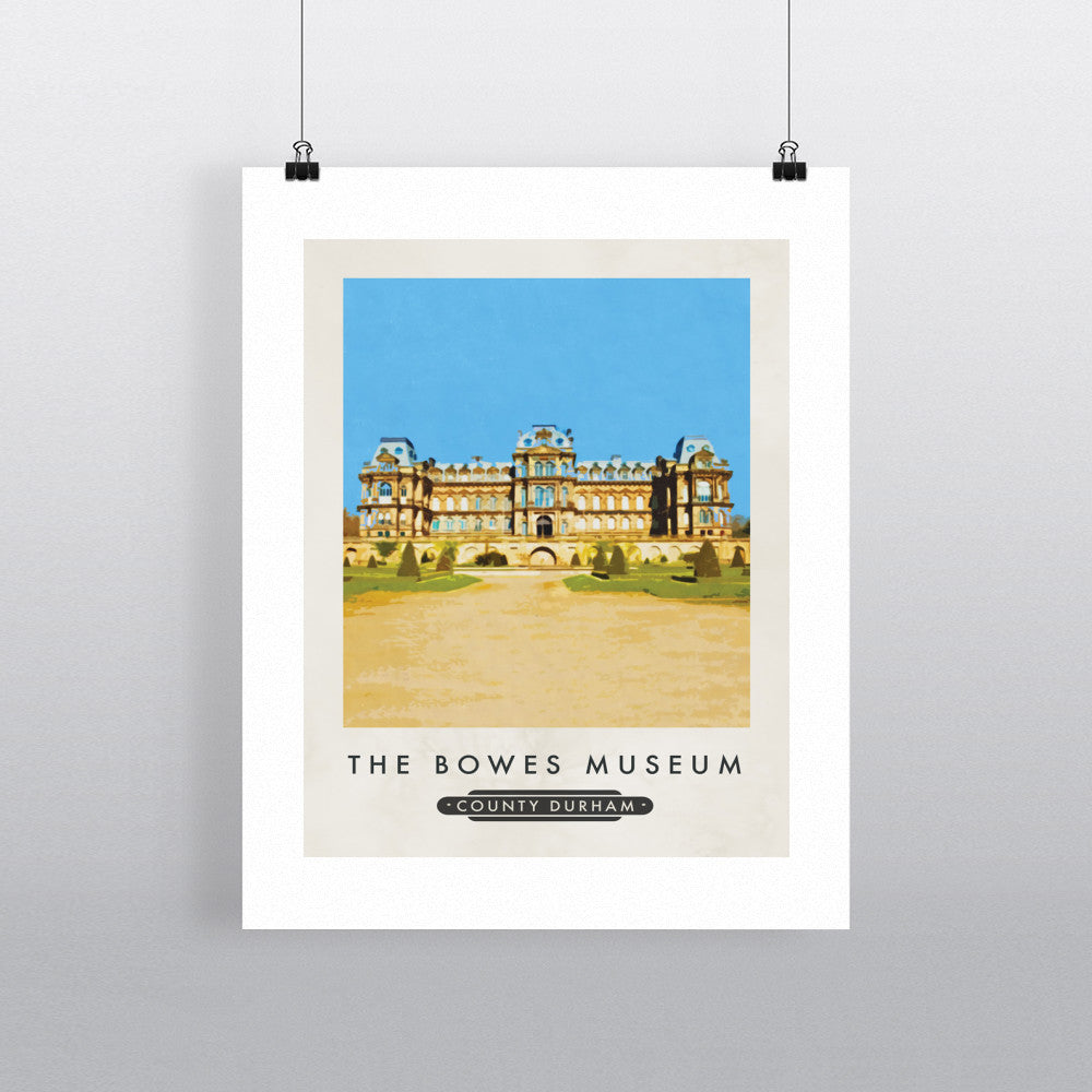 The Bowes Museum, County Durham 11x14 Print