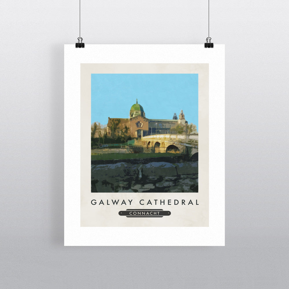 Galway Cathedral, Ireland 11x14 Print