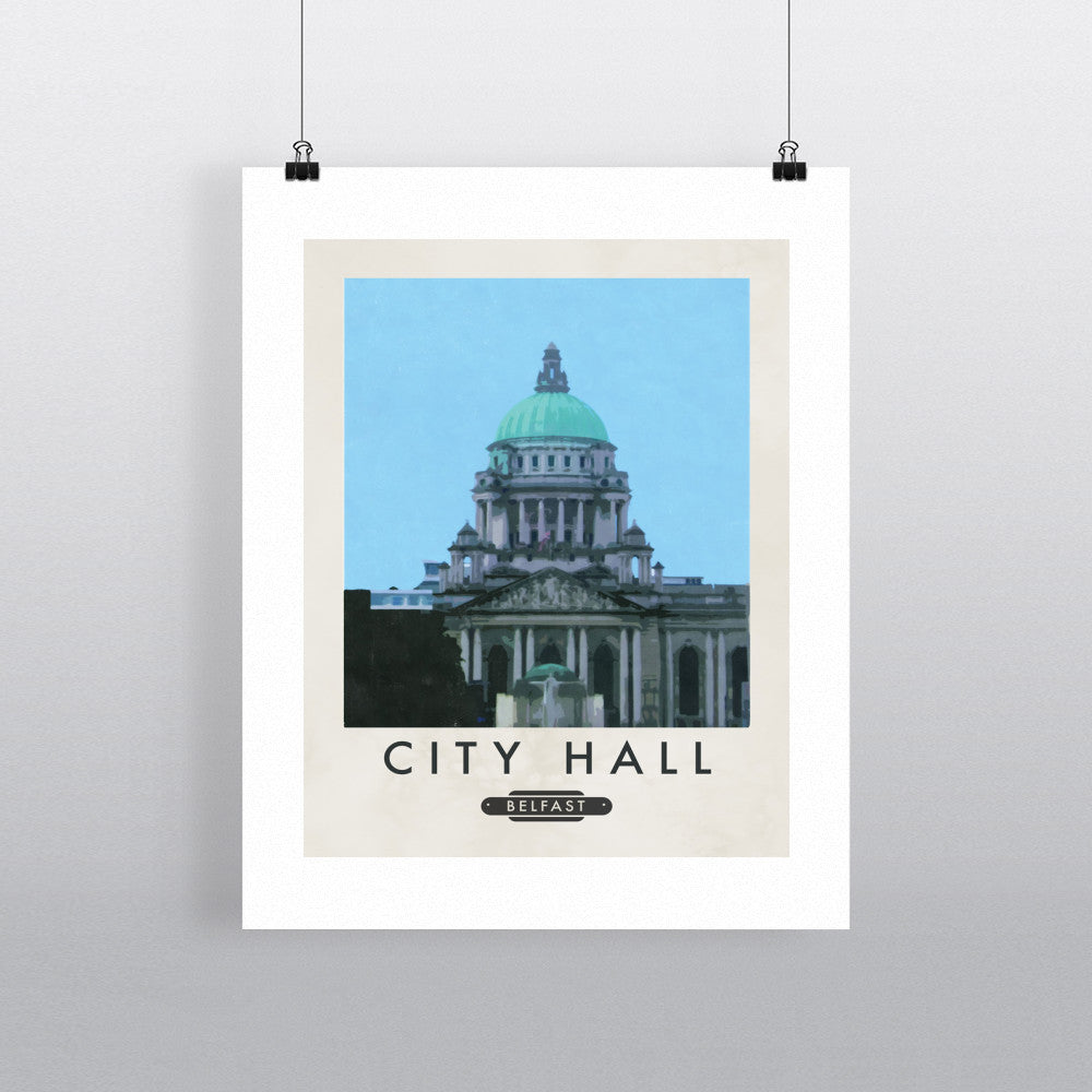 Belfast City Hall, Northern Ireland 11x14 Print