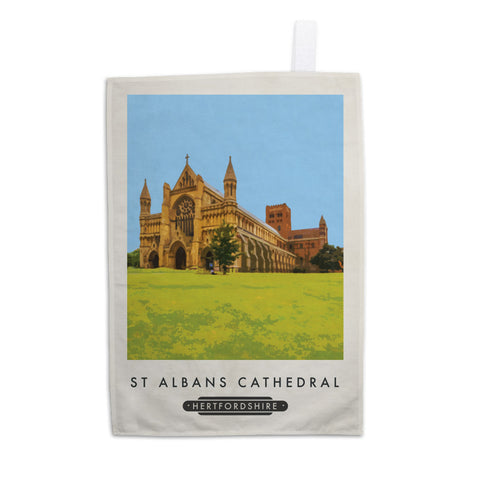 St Albans Cathedral, Hertfordshire 11x14 Print