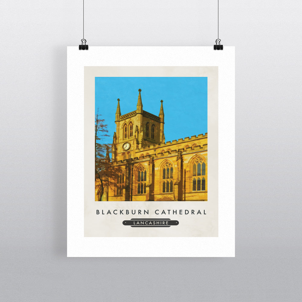 Blackburn Cathedral 11x14 Print