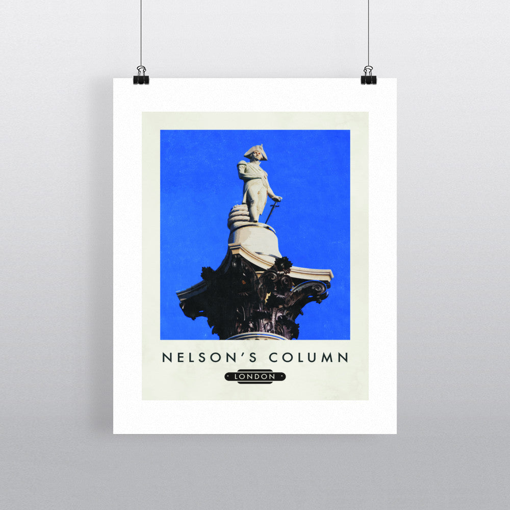 Nelsons Column, London 11x14 Print