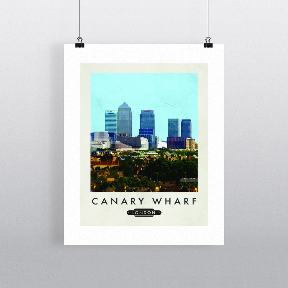 Canary Wharf, London 11x14 Print