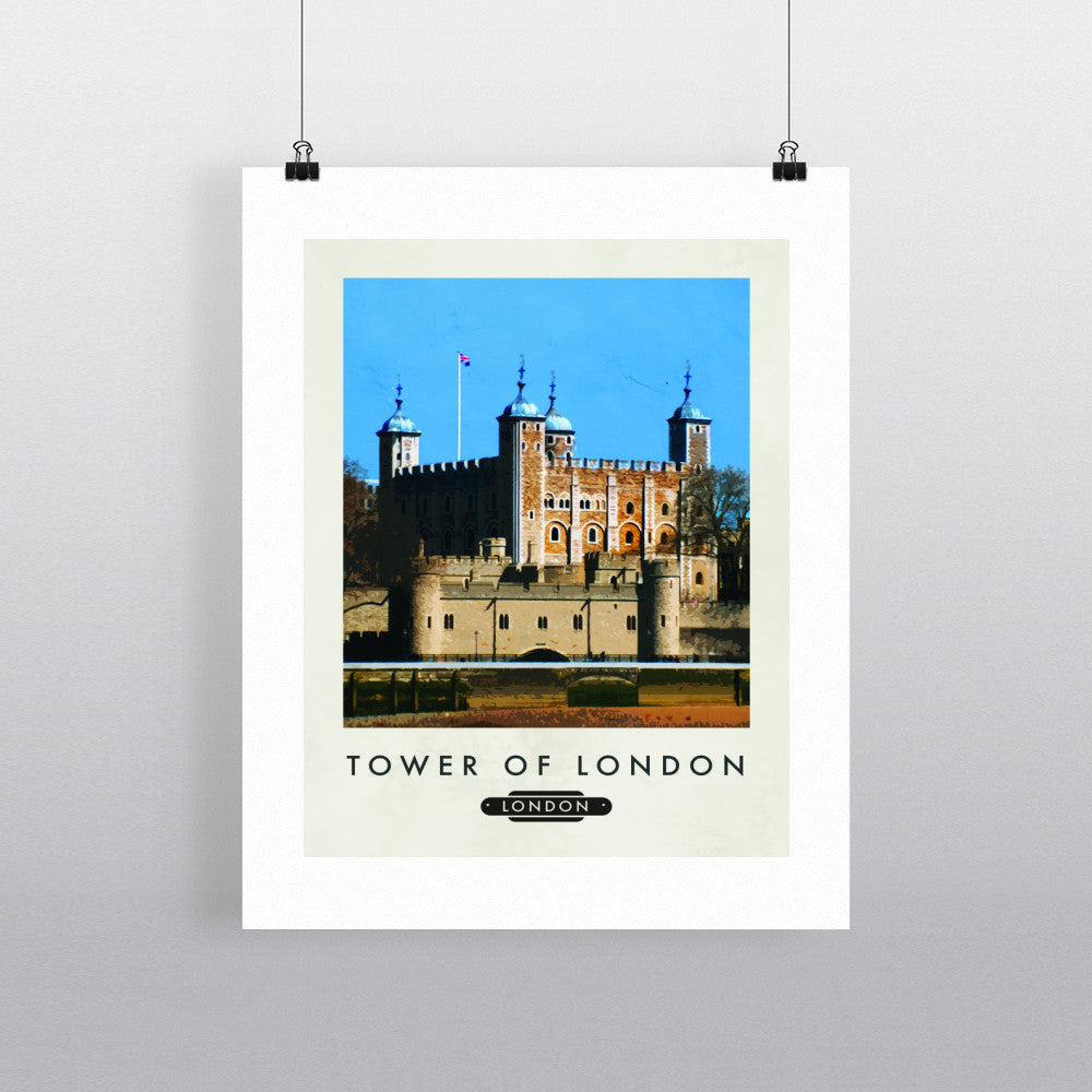 The Tower of London 11x14 Print