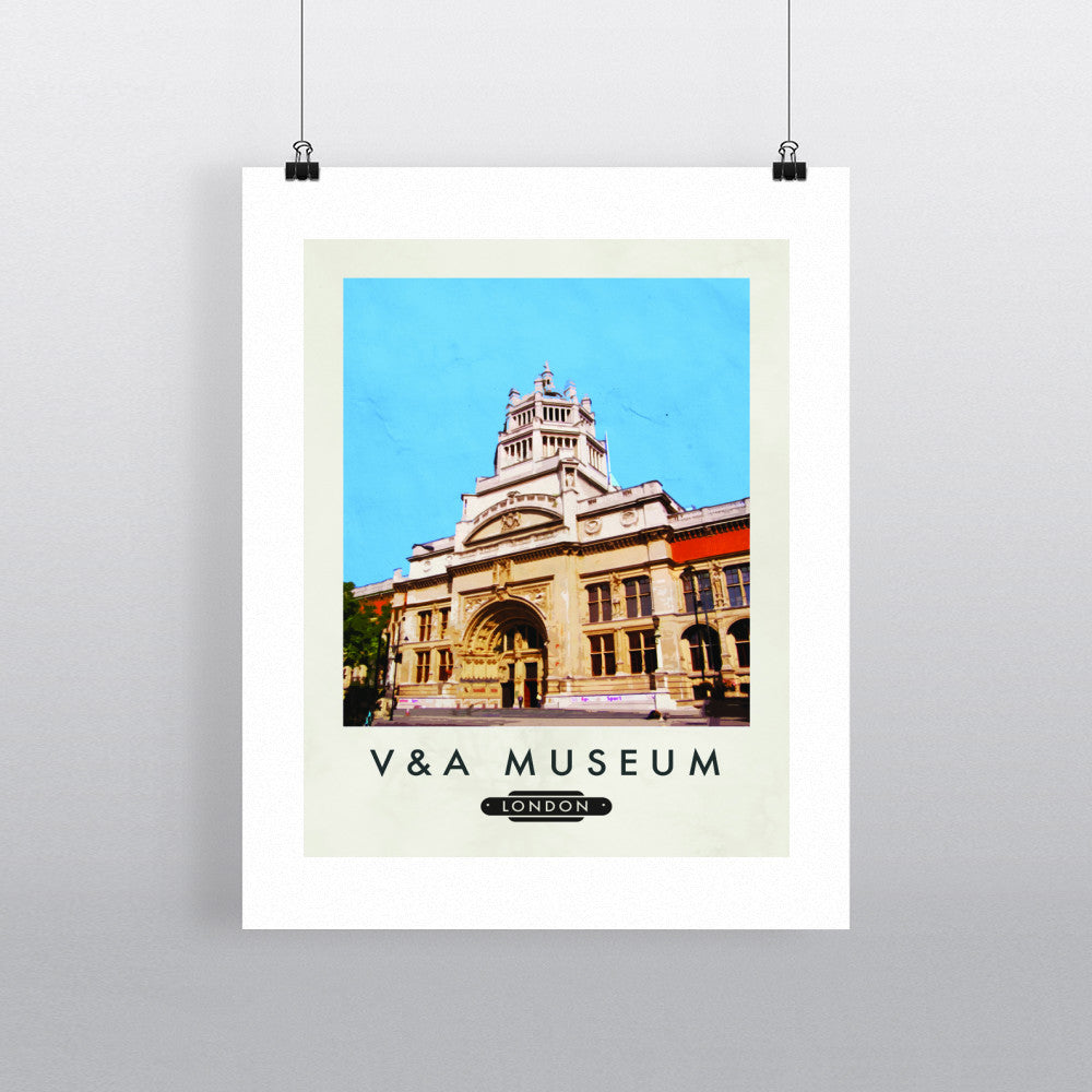 The V&A Museum, London 11x14 Print