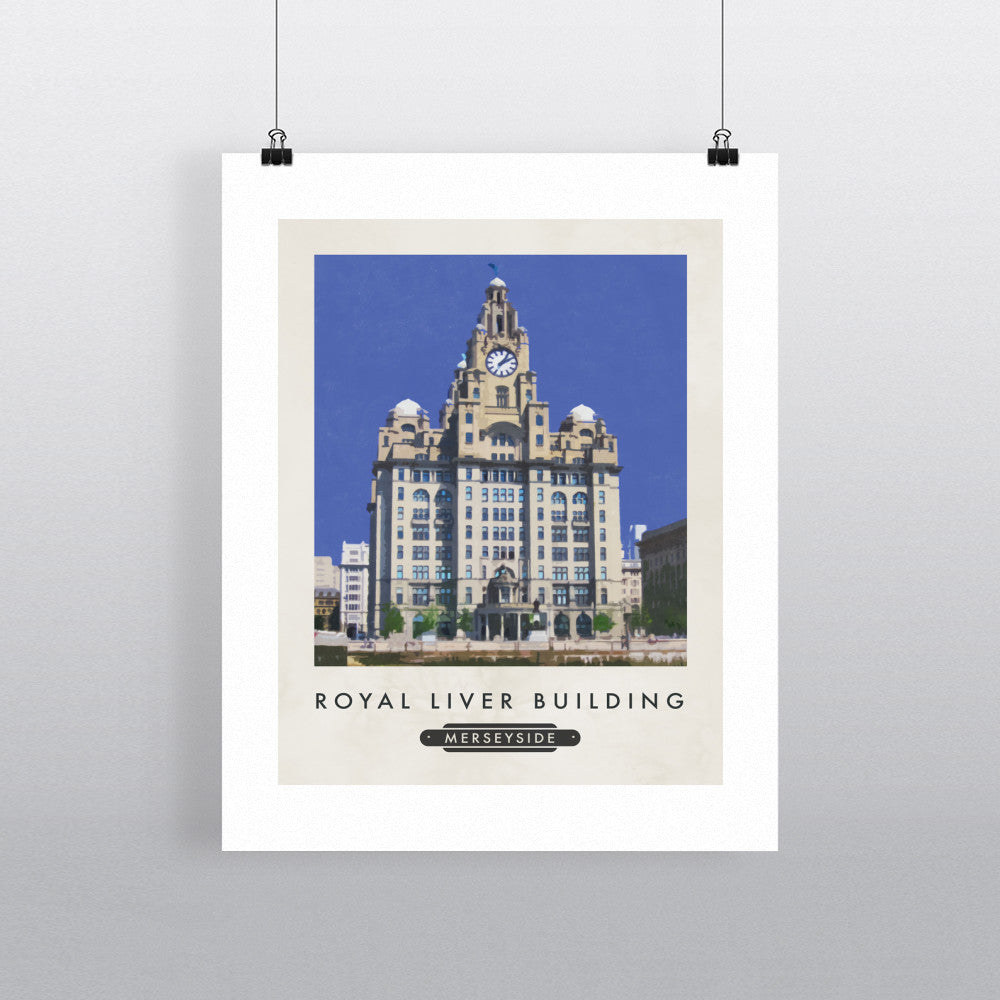 The Liver Building, Liverpool 11x14 Print