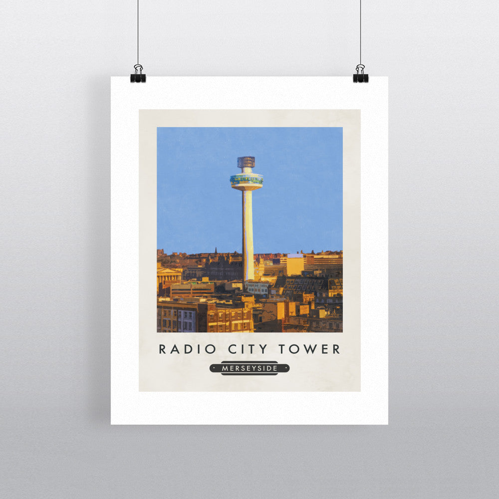 The Radio City Tower, Liverpool 11x14 Print