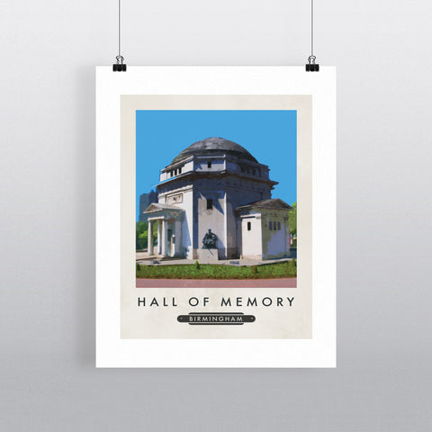 The Hall of Memory, Birmingham 11x14 Print