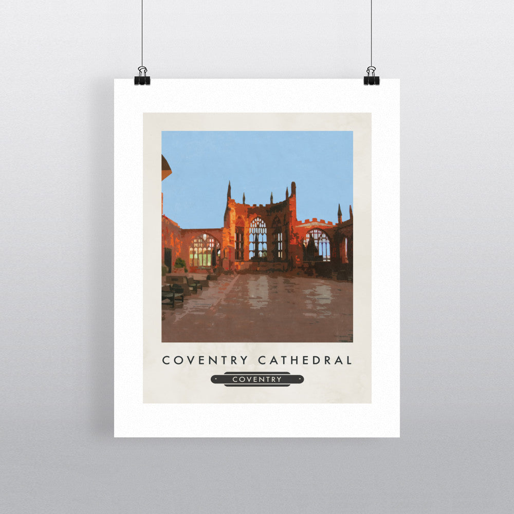Coventry Cathedral 11x14 Print