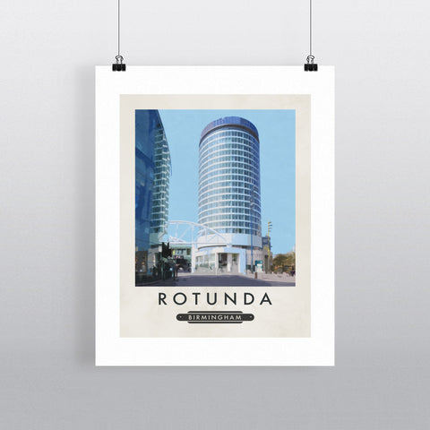 The Rotunda, Birmingham 11x14 Print