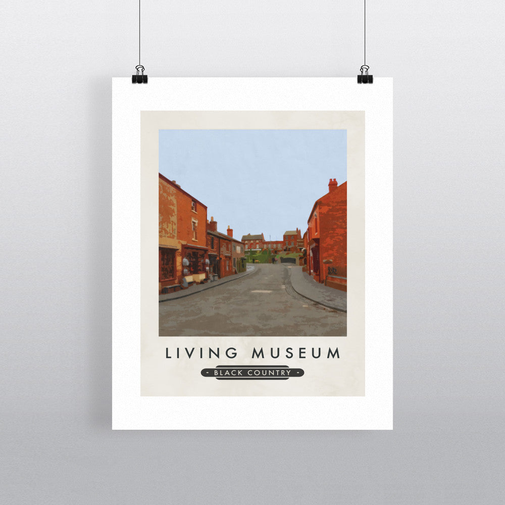 The Living Museum, Dudley 11x14 Print