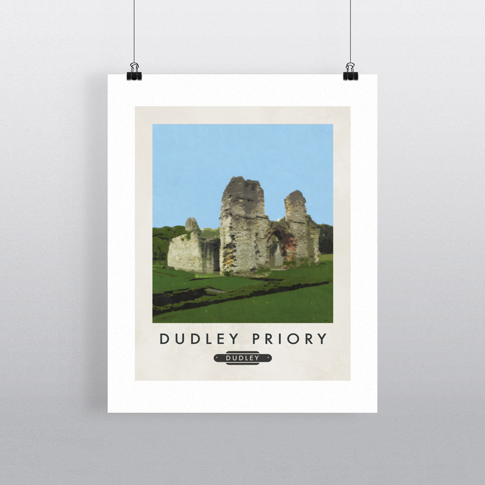 Dudley Priory 11x14 Print