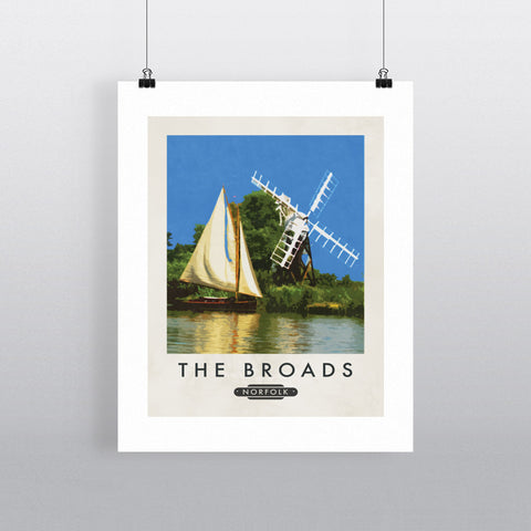 The Norfolk Broads 11x14 Print
