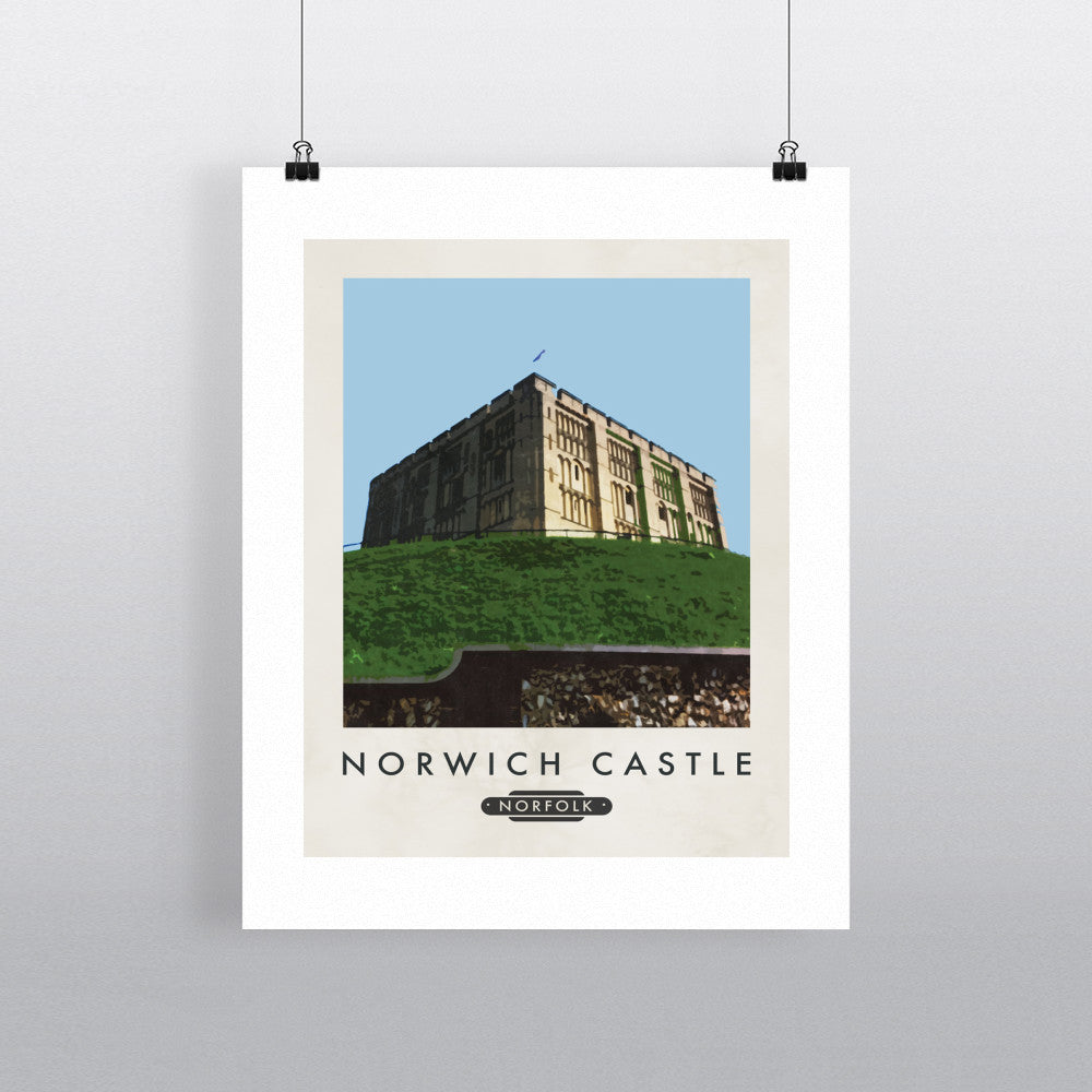 Norwich Castle, Norfolk 11x14 Print