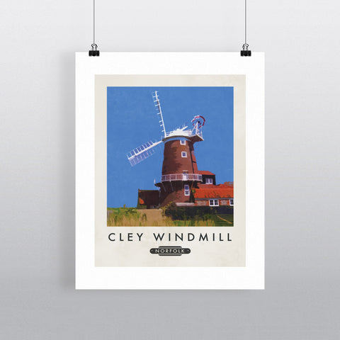 Cley Windmill, Norfolk 11x14 Print