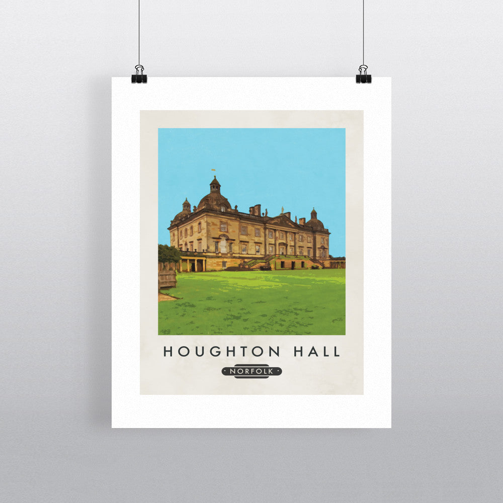 Houghton Hall, Norfolk 11x14 Print
