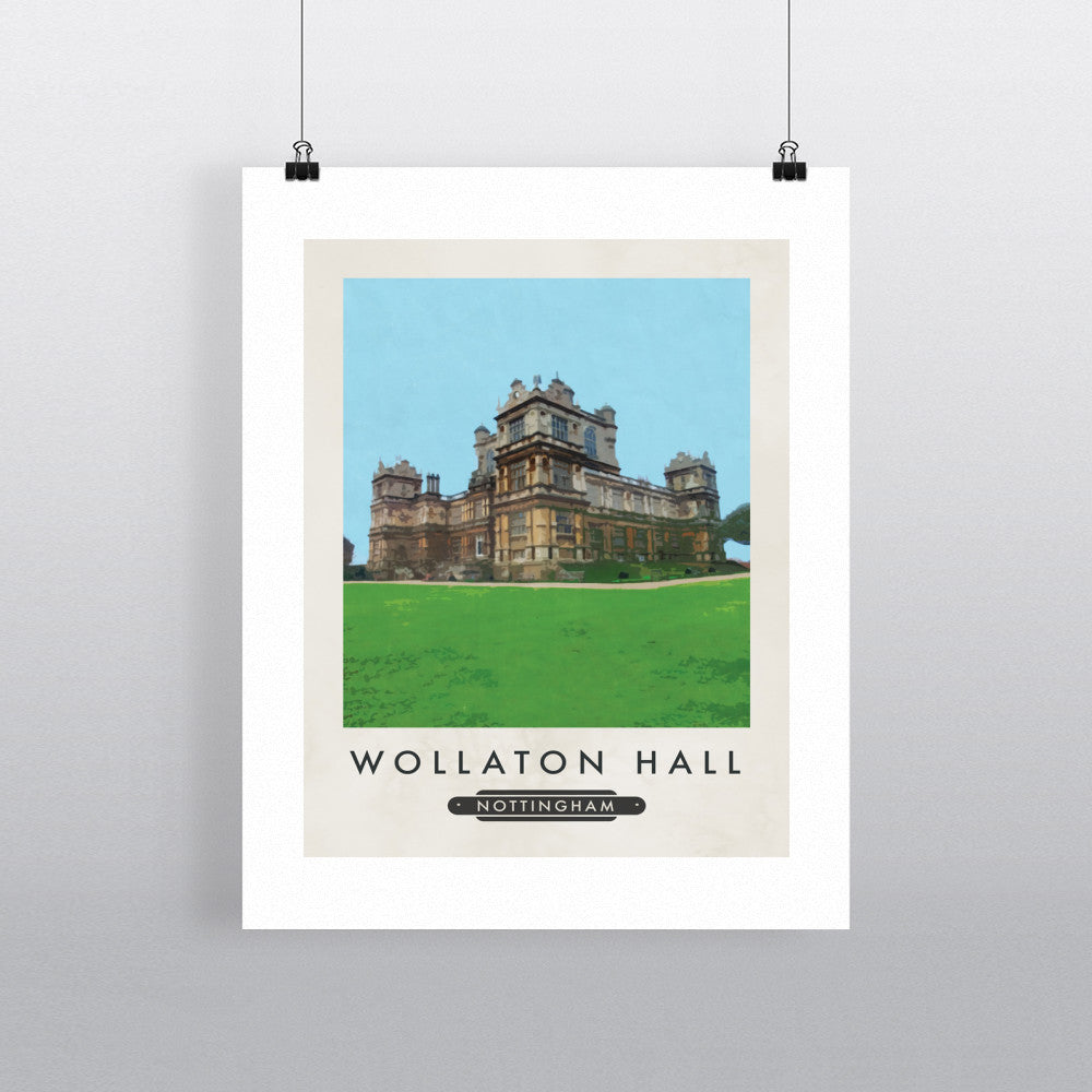Wollaton House, Nottingham 11x14 Print