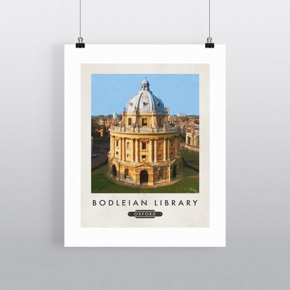 The Bodleian Library, Oxford 11x14 Print