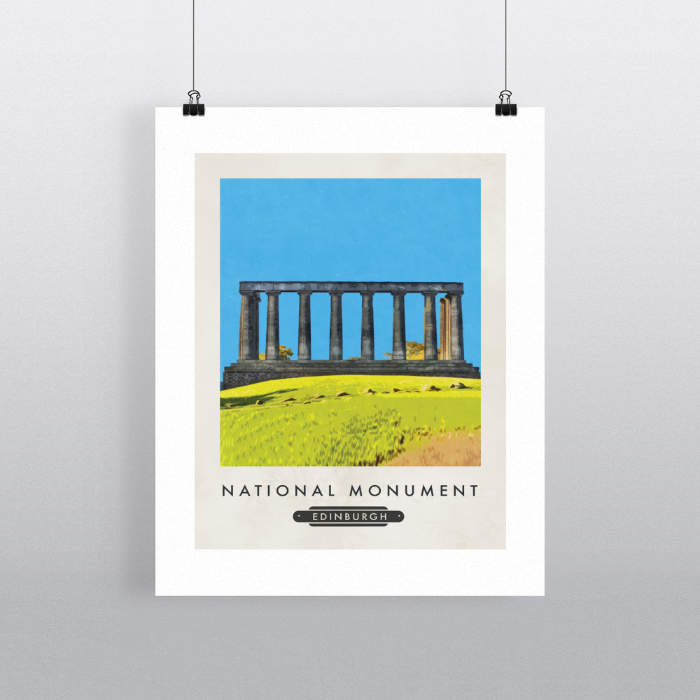 The National Monument, Edinburgh, Scotland 11x14 Print
