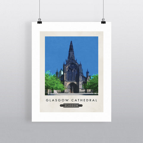 Glasgow Cathedral, Scotland 11x14 Print