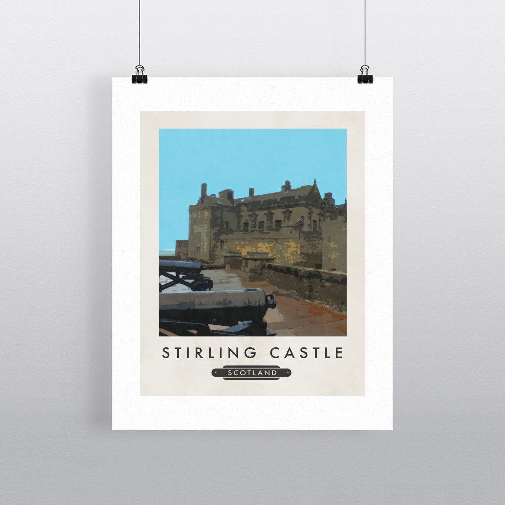 Stirling Castle, Scotland 11x14 Print