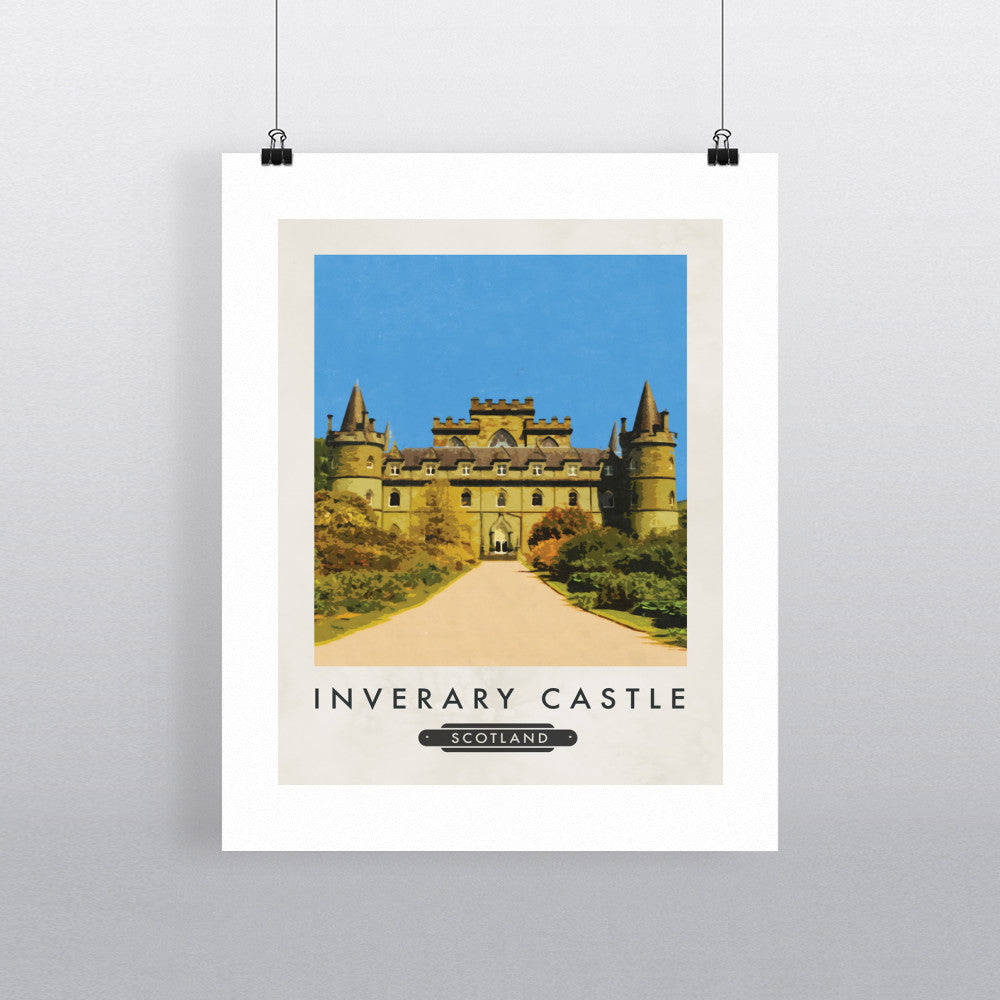 Inveraray Castle, Scotland 11x14 Print