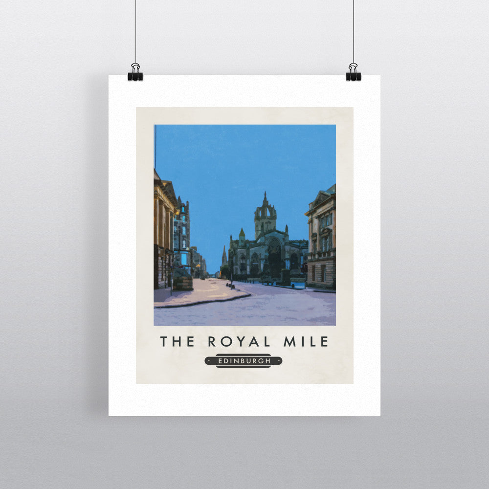 The Royal Mile, Edinburgh, Scotland 11x14 Print