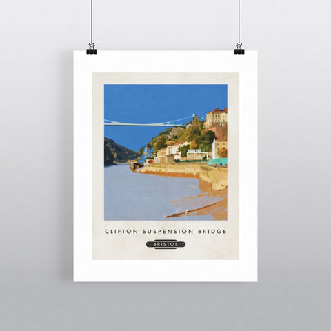 The Clifton Suspension Bridge, Bristol 11x14 Print