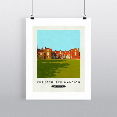 Christchurch Mansion, Ipswich, Suffolk 11x14 Print