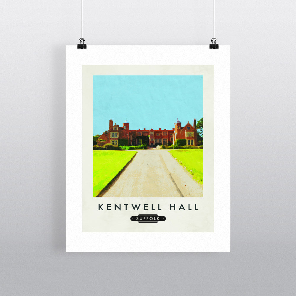 Kentwell Hall, Sudbury, Suffolk 11x14 Print