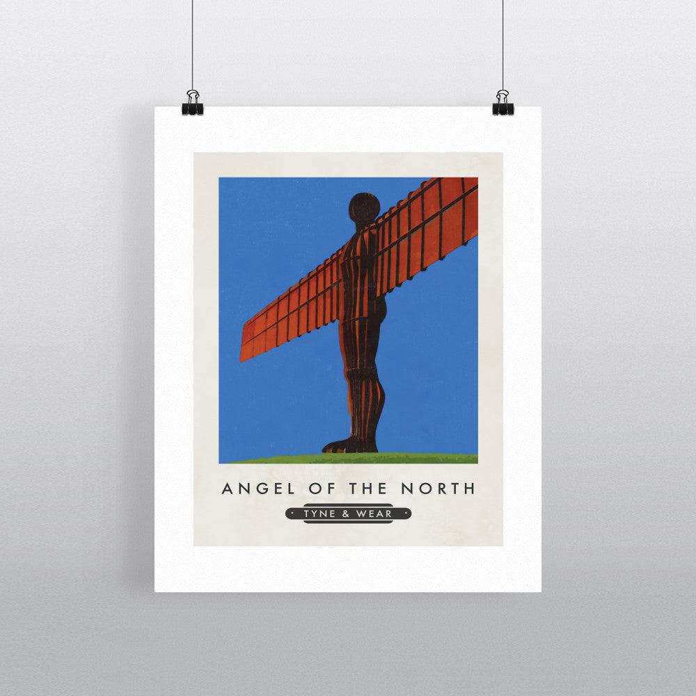 The Angel of the North, Gateshead 11x14 Print