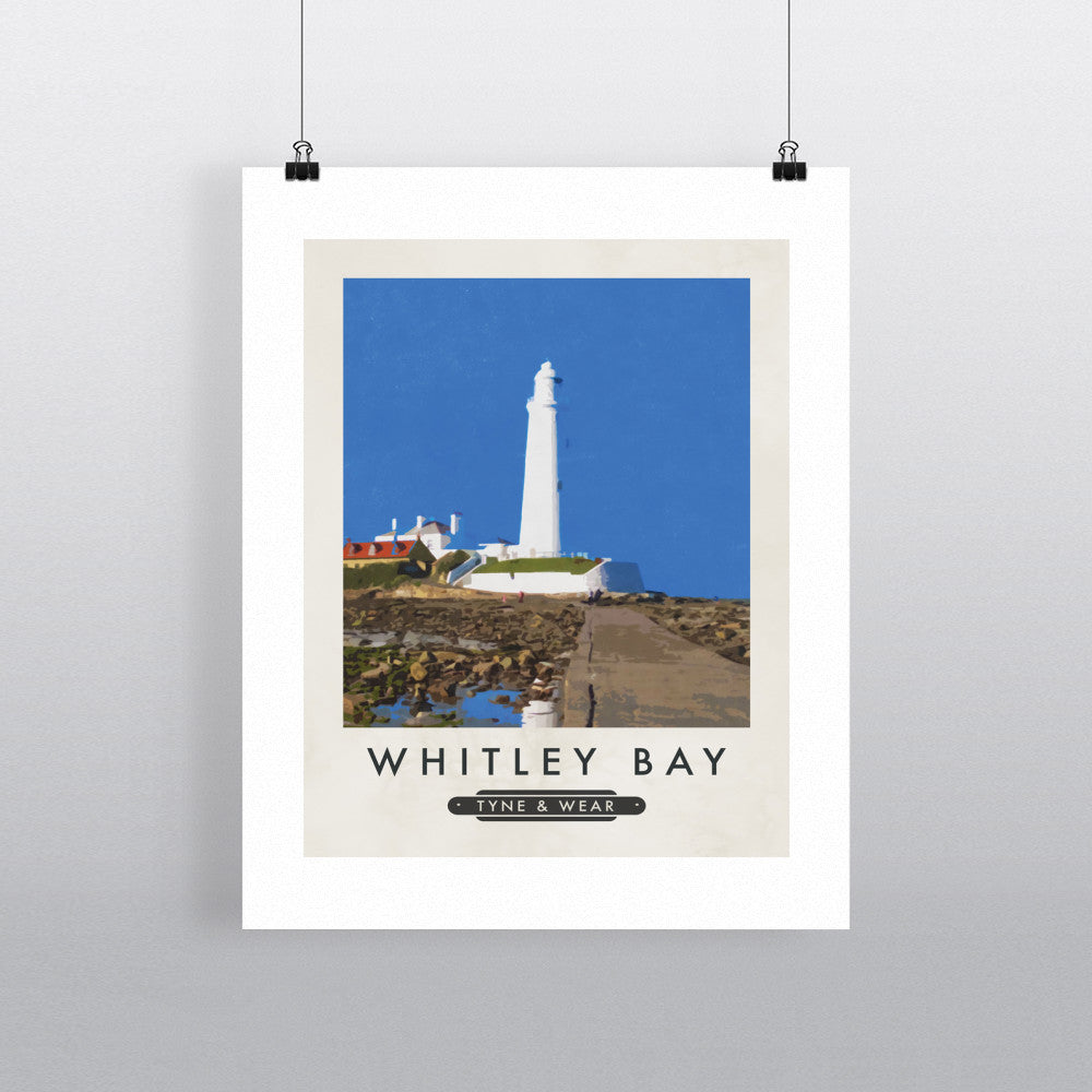 Whitley Bay, Tyne and Wear 11x14 Print