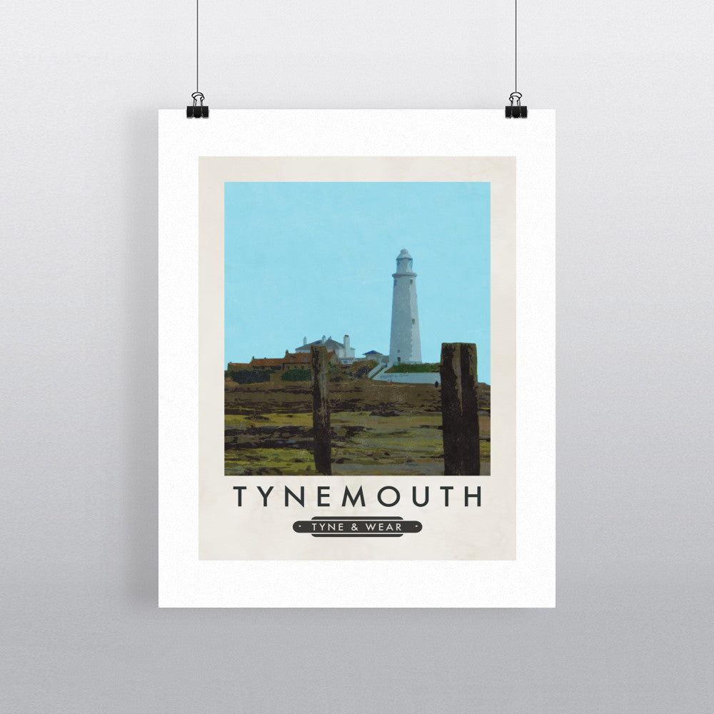 Tynemouth, Tyne and Wear 11x14 Print